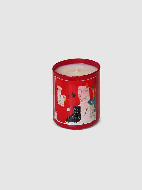 Red Candle by Jean Michel Basquiat