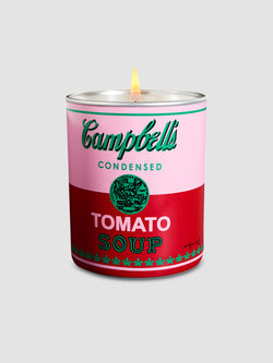 Warhol Campbell's Soup Can Candle, Pink and Red - 10 Corso Como New York