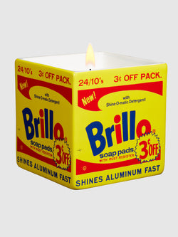 Andy Warhol Brillo Candle Yellow - 10 Corso Como New York