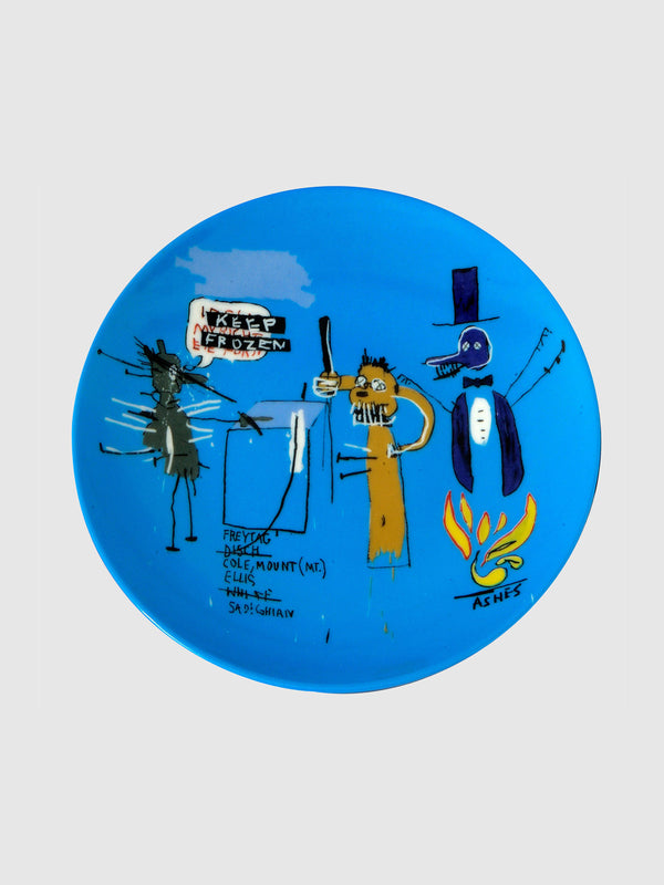 Jean-Michel Basquiat Keep Frozen Plate - 10 Corso Como New York