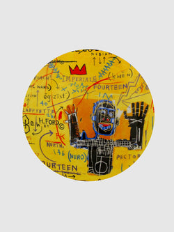 Jean-Michel Basquiat All Colored Cast Plate - 10 Corso Como New York