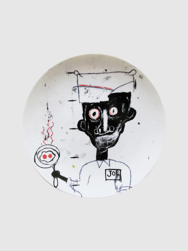 Jean-Michel Basquiat Eyes and Eggs Plate - 10 Corso Como New York