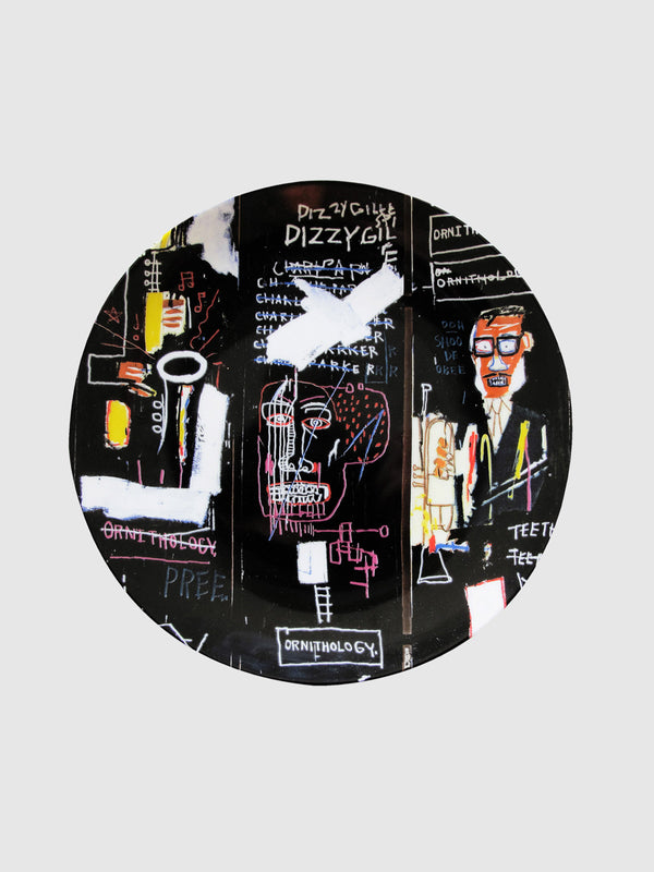 Jean-Michel Basquiat Horm Players Plate - 10 Corso Como New York
