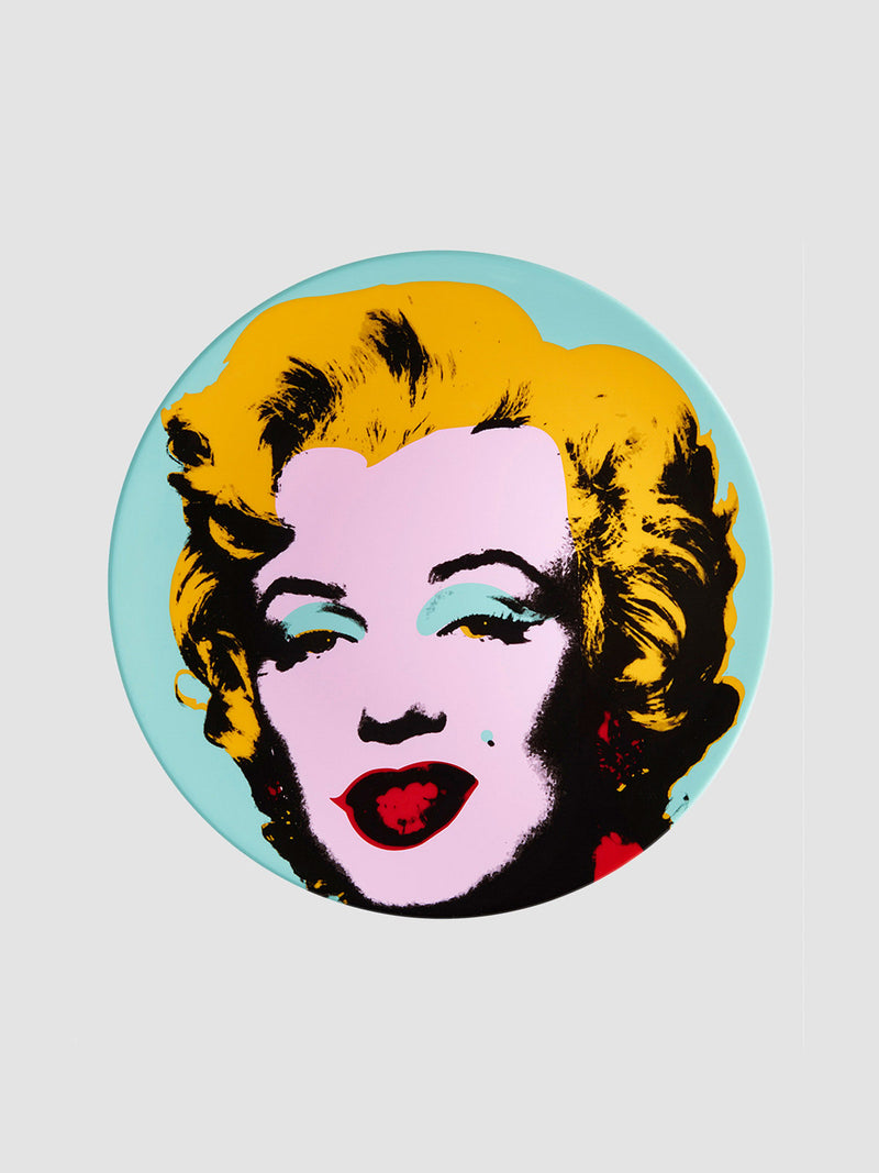Andy Warhol Blue Marilyn Plate - 10 Corso Como New York