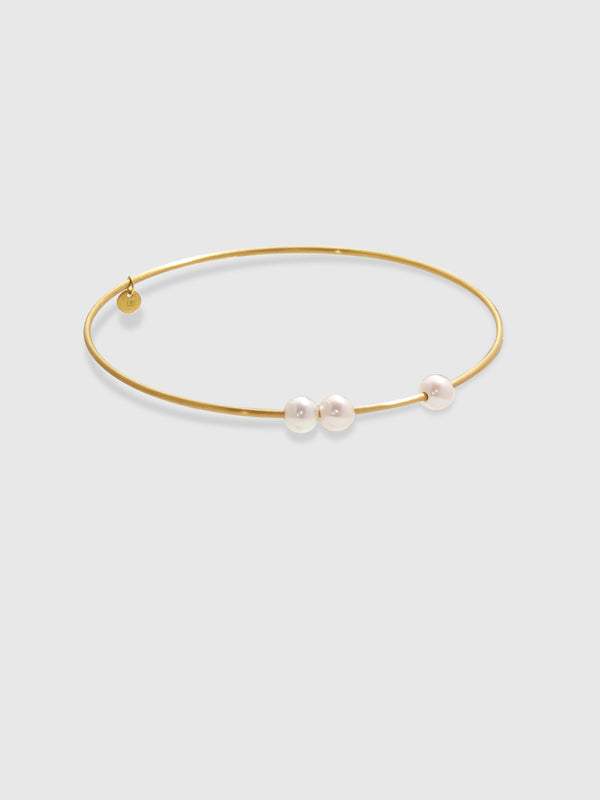 3 Pearl Bangle Bracelet - 10 Corso Como New York