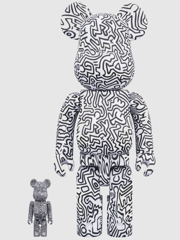 BE@RBRICK Keith Haring #4 100% and 400% Figures - 10 Corso Como New York