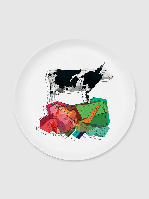 Animal and Solids Cow Plate - 10 Corso Como New York