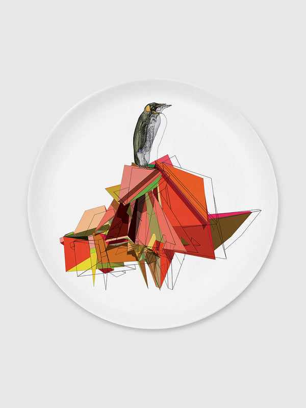 Animal and Solids Penguin Plate - 10 Corso Como New York