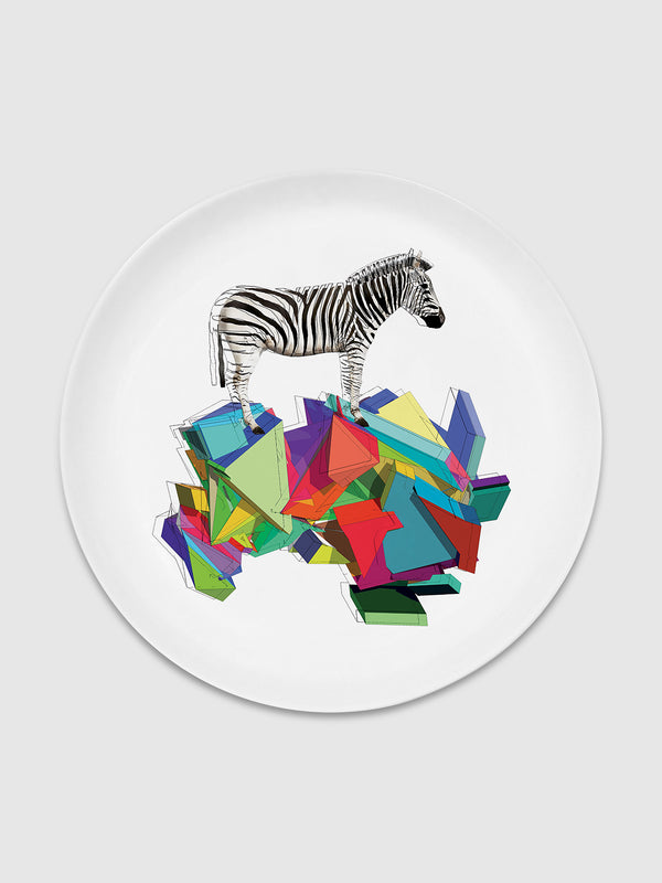 Animal and Solids Zebra Plate - 10 Corso Como New York