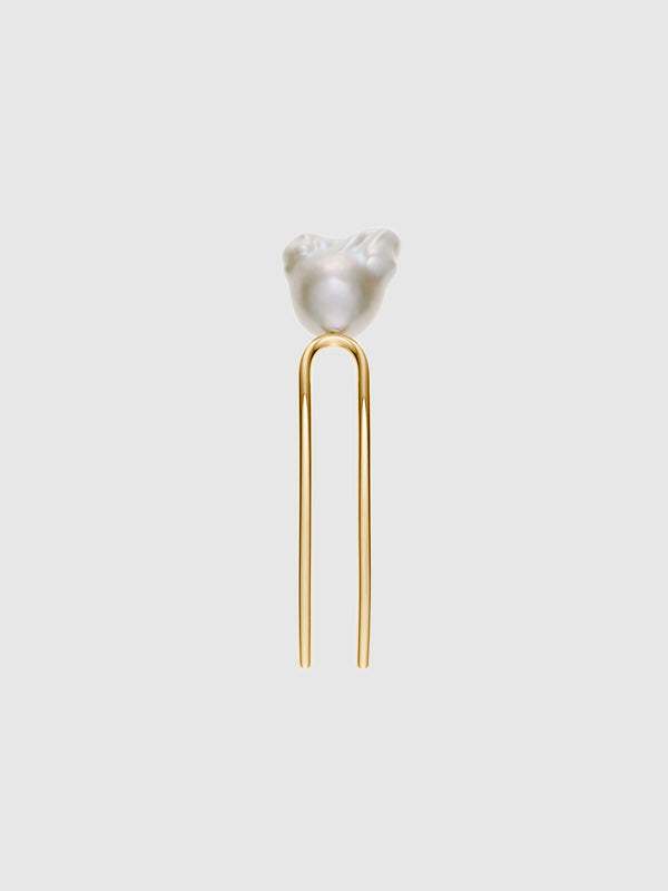 Grace Blanc Pearl Hair Slide - 10 Corso Como New York