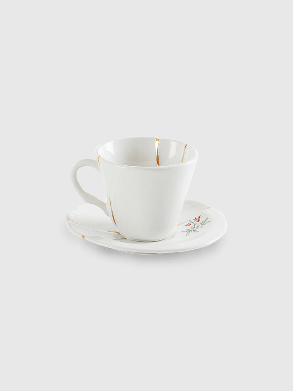 Bird Kintsugi Coffe Cup with Saucer by Marcantonio - 10 Corso Como New York