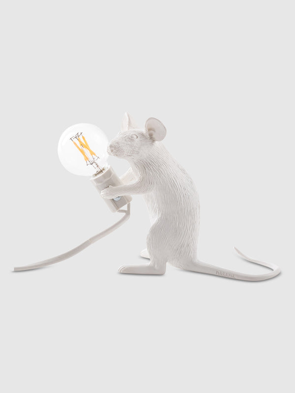Sitting White Mouse Lamp - 10 Corso Como New York