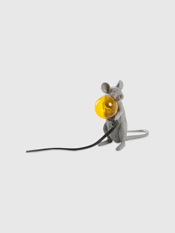 Sitting Grey Mouse Lamp - 10 Corso Como New York