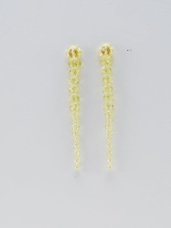 Drip Earrings Light Yellow - 10 Corso Como New York