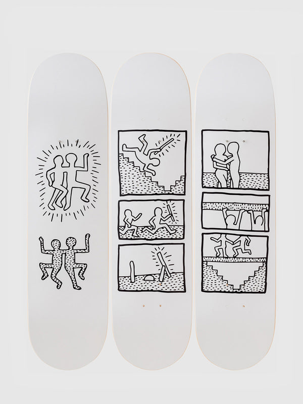 Keith Haring 1981 Skateboards - 10 Corso Como New York