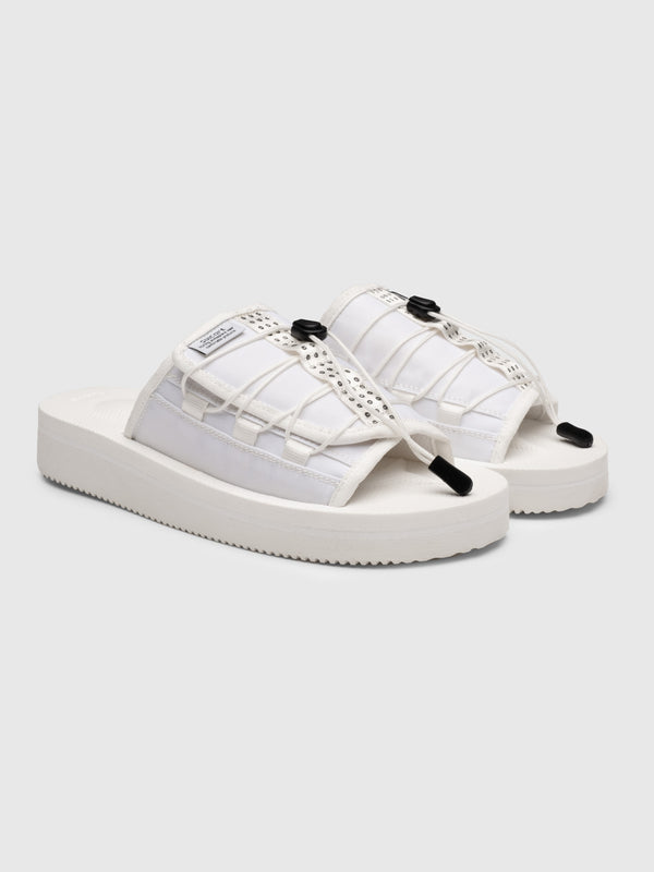 White Olas Sandals - 10 Corso Como New York