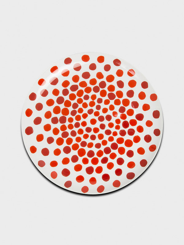 Red Dots Plate - 10 Corso Como New York