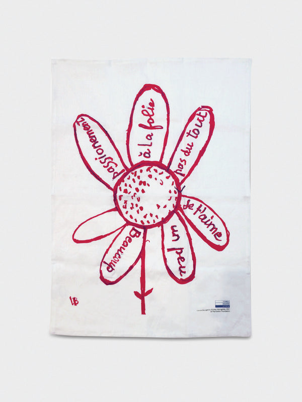 Virtues Theologales Linen Tea Towel - 10 Corso Como New York