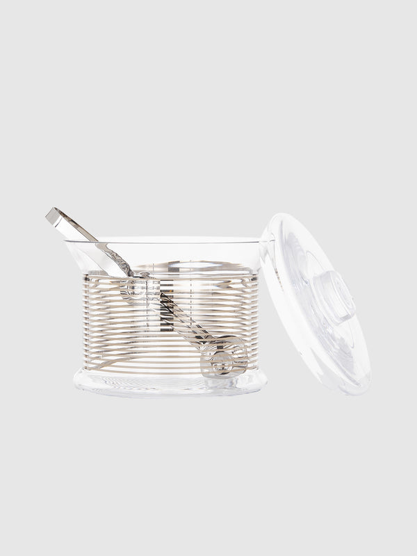 Tank Ice Bucket and Tongs - 10 Corso Como New York