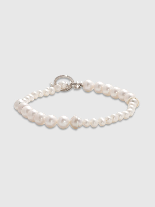 Alternating Split Pearl Bracelet - 10 Corso Como New York