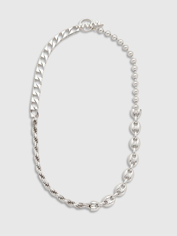 Silver Link Fused Necklace - 10 Corso Como New York