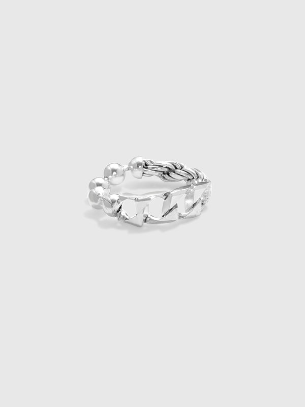 Silver Link Fused Ring - 10 Corso Como New York