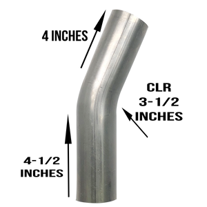 "2.25"" 22.5 Degree Bend 304 Stainless Steel"