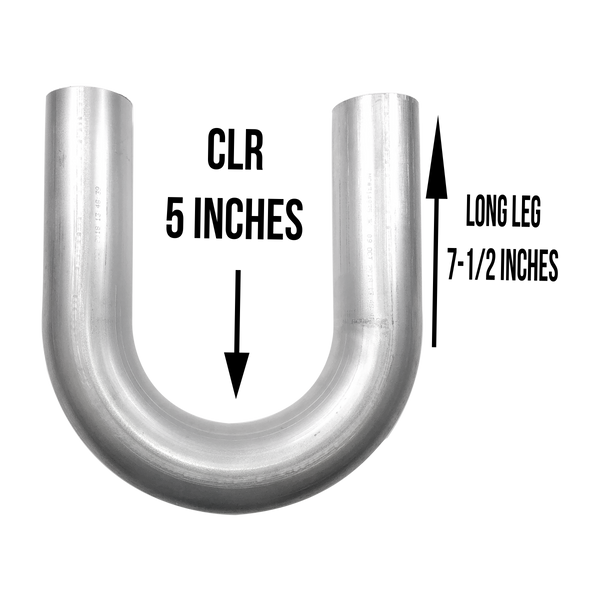 "3"" 180 Degree U Bend Aluminized"