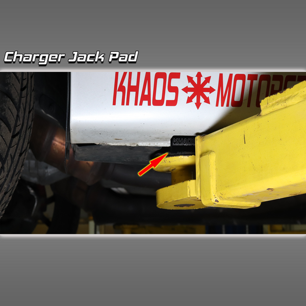 Dodge Charger Jack Pads