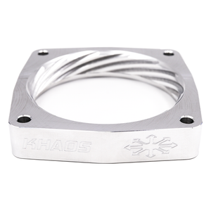 Khaos Motorsports Helix Throttle Body Spacer Dodge Charger / Challenger HEMI 88mm