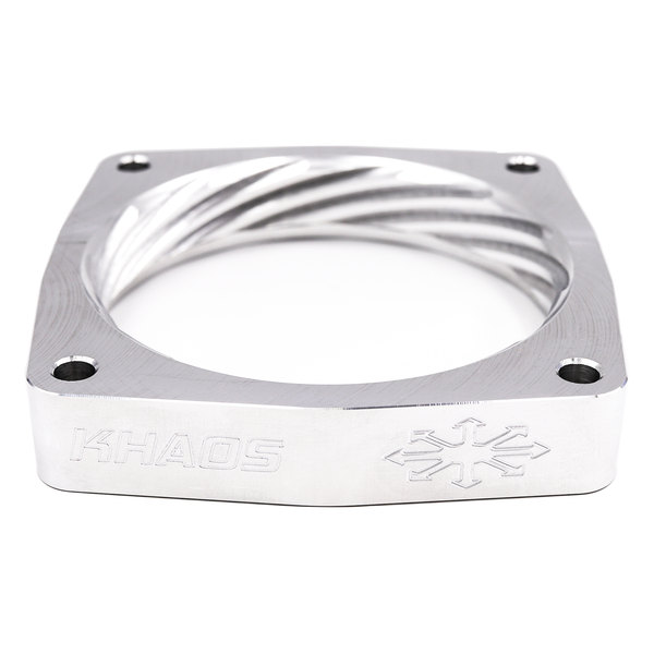 Khaos Motorsports Helix Throttle Body Spacer Dodge Charger / Challenger HEMI 90mm