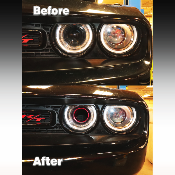 Headlight Intake Ring 2015+ Dodge Challenger