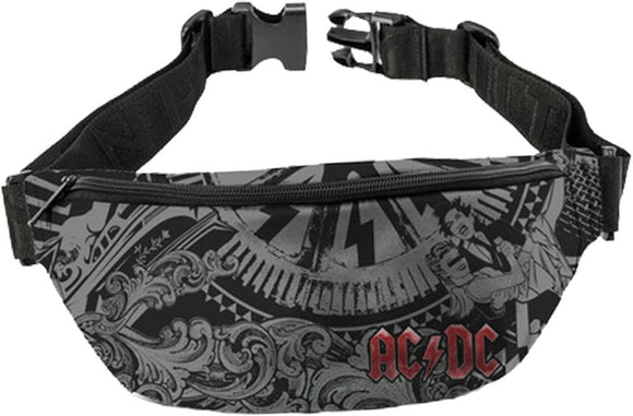 AC/DC Decibel Fanny Pack - shop.AxeDr.com - Best Band T-Shirts, Vintage Rock and Roll T Shirts, Metal Band T-Shirts, Punk T Shirts - Fanny Packs
