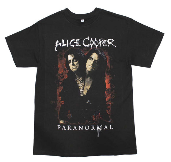 Alice Cooper Paranormal T-Shirt - shop.AxeDr.com - Best Band T-Shirts, Vintage Rock and Roll T Shirts, Metal Band T-Shirts, Punk T Shirts - Men's T-Shirts