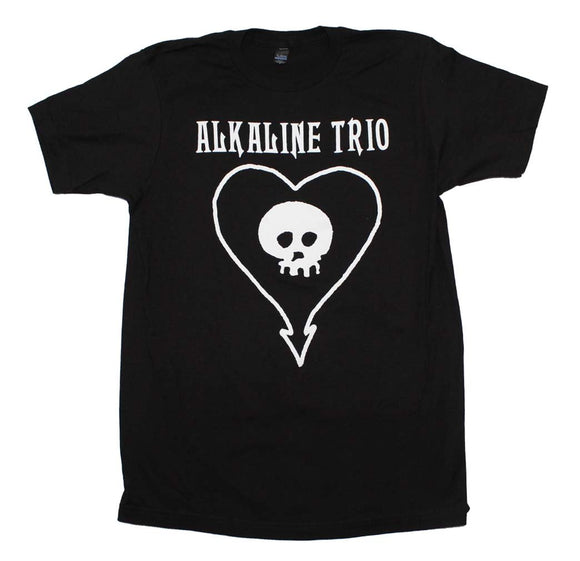 Alkaline Trio Classic Heartskull T-Shirt - shop.AxeDr.com - Best Band T-Shirts, Vintage Rock and Roll T Shirts, Metal Band T-Shirts, Punk T Shirts - Men's T-Shirts