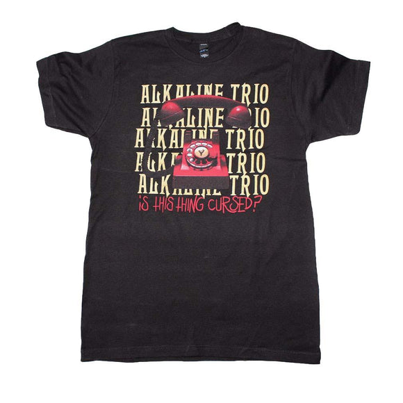 Alkaline Trio Is This Thing Cursed Repeater T-Shirt - shop.AxeDr.com - Best Band T-Shirts, Vintage Rock and Roll T Shirts, Metal Band T-Shirts, Punk T Shirts - Men's T-Shirts