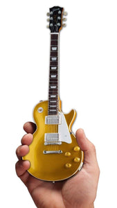 Axe Heaven Gibson 1957 Les Paul Standard Gold Top Mini Guitar Collectible - shop.AxeDr.com - Best Band T-Shirts, Vintage Rock and Roll T Shirts, Metal Band T-Shirts, Punk T Shirts - 413