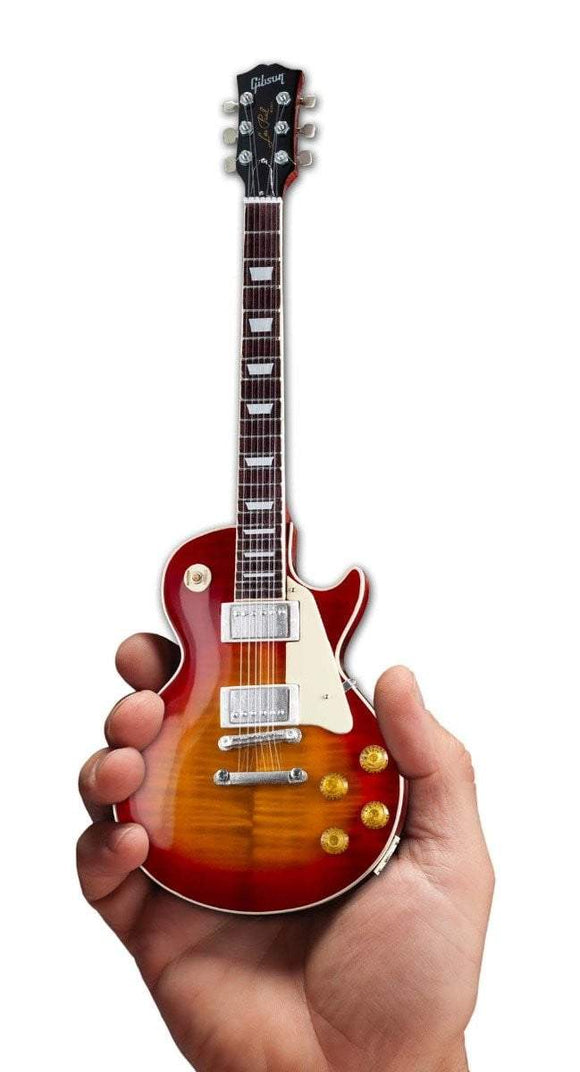 Axe Heaven Gibson 1959 Les Paul Standard Cherry Sunburst Mini Guitar Collectible - shop.AxeDr.com - Best Band T-Shirts, Vintage Rock and Roll T Shirts, Metal Band T-Shirts, Punk T Shirts - 413