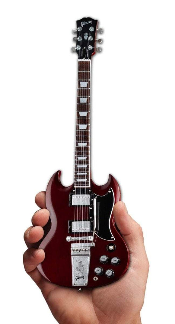 Axe Heaven Gibson 1964 SG Standard Cherry Mini Guitar Collectible - shop.AxeDr.com - Best Band T-Shirts, Vintage Rock and Roll T Shirts, Metal Band T-Shirts, Punk T Shirts - 413