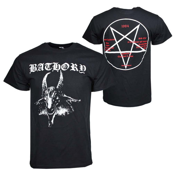 Bathory Goat Logo T-Shirt