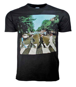 Beatles Abbey Road Black T-Shirt - shop.AxeDr.com - Best Band T-Shirts, Vintage Rock and Roll T Shirts, Metal Band T-Shirts, Punk T Shirts - Men's T-Shirts
