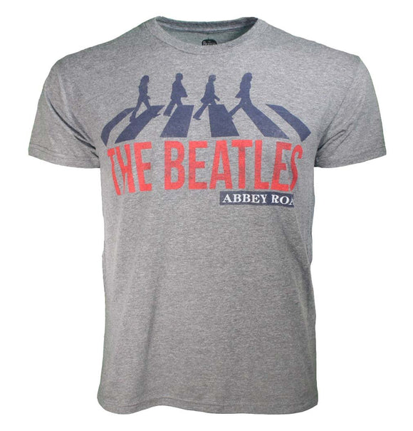 Beatles Abbey Road Heather T-Shirt - shop.AxeDr.com - Best Band T-Shirts, Vintage Rock and Roll T Shirts, Metal Band T-Shirts, Punk T Shirts - Men's T-Shirts