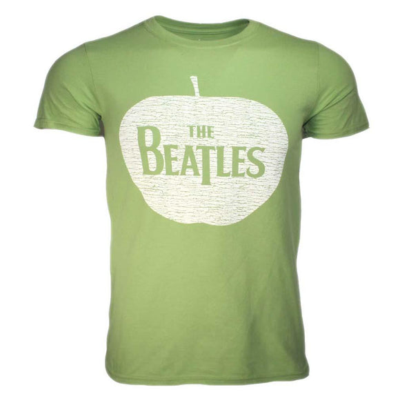 Beatles Apple Green T-Shirt - shop.AxeDr.com - Best Band T-Shirts, Vintage Rock and Roll T Shirts, Metal Band T-Shirts, Punk T Shirts - Men's T-Shirts