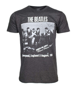 Beatles Cavern Club Heather Charcoal Soft T-Shirt