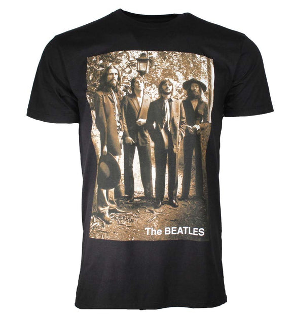 Beatles Sepia 1969 T-Shirt - shop.AxeDr.com - Best Band T-Shirts, Vintage Rock and Roll T Shirts, Metal Band T-Shirts, Punk T Shirts - Men's T-Shirts
