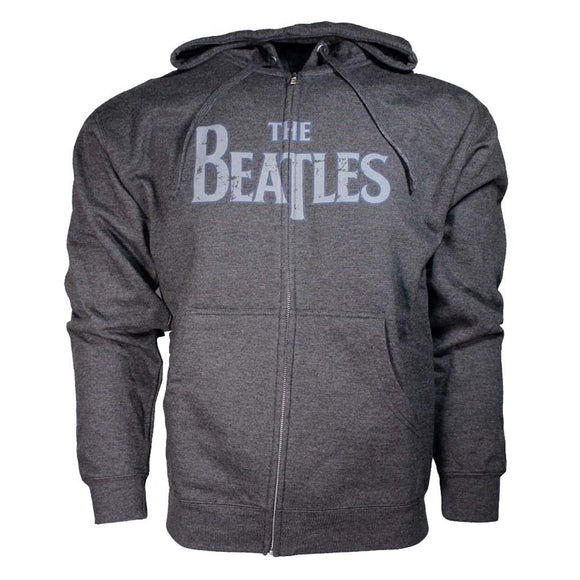 Beatles Vintage Logo Hoodie Sweatshirt - shop.AxeDr.com - Best Band T-Shirts, Vintage Rock and Roll T Shirts, Metal Band T-Shirts, Punk T Shirts - Men's Sweatshirts