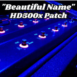 """Beautiful Name"" POD HD500x Patch by Axe Dr. - shop.AxeDr.com - Best Band T-Shirts, Vintage Rock and Roll T Shirts, Metal Band T-Shirts, Punk T Shirts - Digital Downloads"