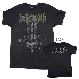 Behemoth LCFR Cross T-Shirt - shop.AxeDr.com - Best Band T-Shirts, Vintage Rock and Roll T Shirts, Metal Band T-Shirts, Punk T Shirts - Men's T-Shirts