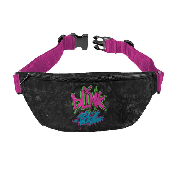 Blink 182 Logo Fanny Pack - shop.AxeDr.com - Best Band T-Shirts, Vintage Rock and Roll T Shirts, Metal Band T-Shirts, Punk T Shirts - Fanny Packs