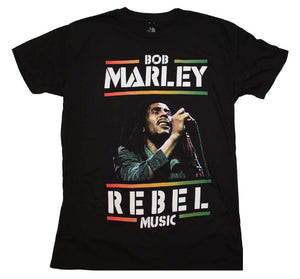 Bob Marley Rebel Music T-Shirt - shop.AxeDr.com - Best Band T-Shirts, Vintage Rock and Roll T Shirts, Metal Band T-Shirts, Punk T Shirts - Men's T-Shirts